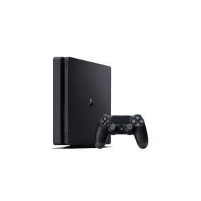 Playstation 4 Ps4 Slim 1tb + 2 Controles Dualshock 4 Bivolt