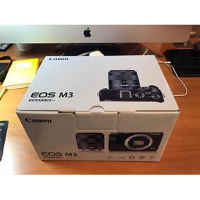 Camara Canon M3, Con Lente 18-55
