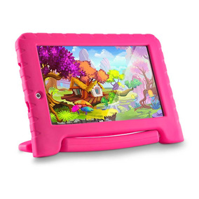 Tablet Multilaser Kid Pad Plus Quadcore Android 7 Wifi Rosa