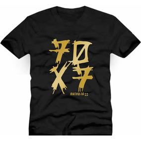 Camiseta Gospel Evangélica  70x7 - Camisetas Manga Curta no Mercado ... a113936bb8271