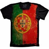 Camiseta Bandeira Portugal Camisa Portugal Bandeira Tshirt f8b75257b7bbd