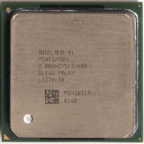 Procesador Intel Socket 478 Sl6wj Bus De Alta Velocidad