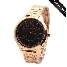 2a0673218f1 Relógio Feminino Rosé Atlantis - Joias e Relógios no Mercado Livre ...