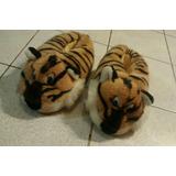 Pantuflas De Tigre Impecables