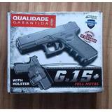 Pistola Airsoft Metal 15+
