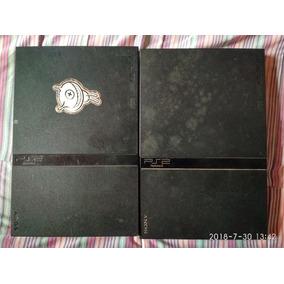 2 Playstation 2 Slim Com Defeito Em Bom Estado