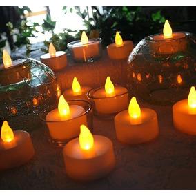 Vela Led Luz Calida Decoracion Souvenier