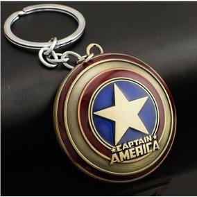 Chaveiro Marvel Vingadores Escudo Capitão América