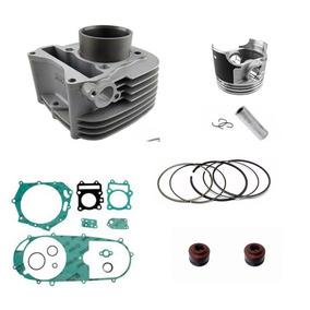 Kit Motor Metal Leve C/ Juntas Retentor Válvulas Burgman 125