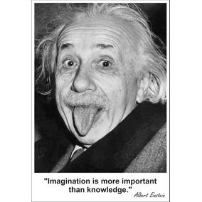 Pôster Adesivo Albert Einstein 60x88cm