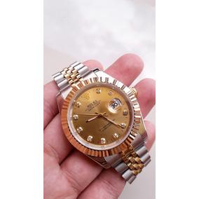 00e0f630778 Relogio Rolex Datejust 16014 36mm Prata White Gold De Luxo ...