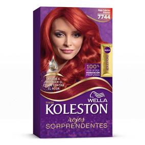 Wella Koleston Coloración En Crema Para Cabello, 7744 - Rojo