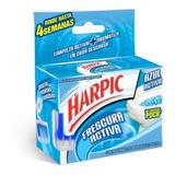 Pastilla Para Inodoro Harpic Frescura Activa 35 Gr