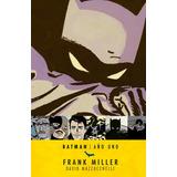 Batman Año Uno Frank Miller Ecc Sud Libro Tapa Blanda