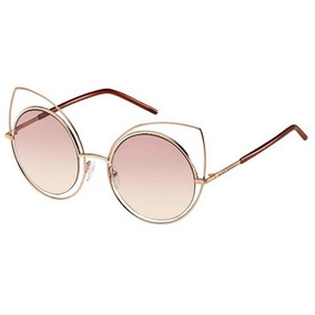 2eb7c51fd1105 Oculos Sol Rose Gatinho Rosado Marc Jacobs - Óculos no Mercado Livre ...