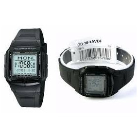 13eecaae6 Rel Gio Masculino Casio Digital Vintage Db 36 9avdf - Relógios no ...