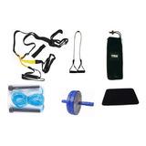 Ultra Kit : Trx ,rueda Abdominal,lazo,banda Elastica,tapete