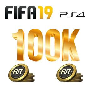 Fifa 19 Coins Ps4 100k Ultimate Team Fut Moedas