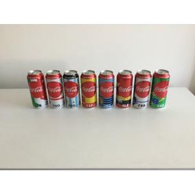 Lata Coleção 8x Coca-cola Mundial Russia 2018 Fifa Raras