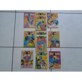 Batman Editora Abril 1984 Formatinho ( Lote 11 Gibis )