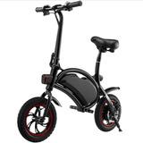 Bicicleta Eléctrica Blackpcs M10-bl Fibra De Carbón 300w