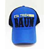 Boné Eta Trem Baum Azul Com Preto Masculino Feminino 35341a376f8