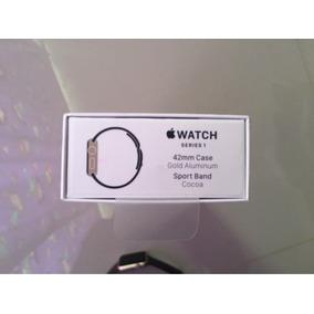 Apple Watch De 42mm Gold Aluminum Sport Banda Cocoa