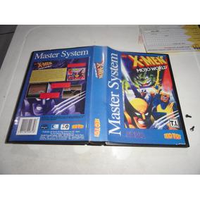 X-men Mojo World Master System C/ Caixa Sem Manual