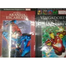 Kit Hq Aranha Escarlate#90 Vingadores Fim Dos Tempos #129