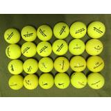 24 X Bolas De Golfe Inesis Amarelas Usadas
