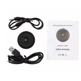 Transmissor Áudio Multiponto Bluetooth 4.0 Conector P2 3.5m