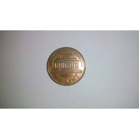 Moeda One Cent Eua 1990