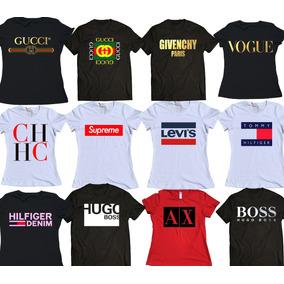 8279d75267 Gucci Hugo Boss Fendi Boy London Y Más Lote De 6 Playeras