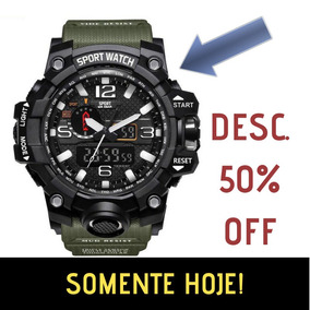 0d6aa8f6471 Relógio Masculino Esportivo Estilo G-shock - Resistente Água
