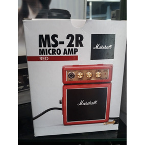 Mini Amplificador Marshall Ms 2c.