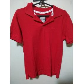 Camisa Polo Masculina M Vermelha 8c6a66a3a9d2c
