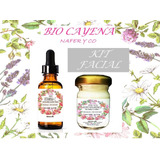 Kit Serum Vitamin C 25%+crema Acido Hialuronico 100%organico
