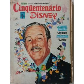 Cinquentenário Disney - 1973 -avariado (ver Fotos E Anúncio)