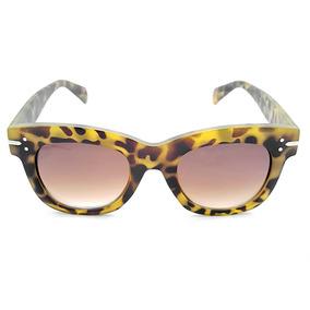 Óculos De Sol Gio Antonelli G0801 50 Tartaruga Fosco Lente M 411833a55c