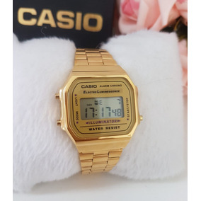 cf3ff3ba516 Relogio Casio Feminino Dourado Vintage - Relógio Casio no Mercado ...