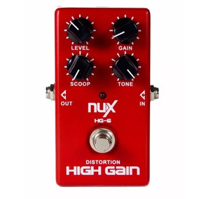 Pedal Nux Modern High Gain + Brinde