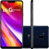 Smartphone Lg G7 Thinq Dual Chip Fullvision Tela 6.1 + Nf