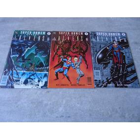 Super Homem Versus Aliens - Mini Série Completa 1 A 3 - 1997