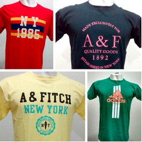 Kit 20 Camisetas Camisas Masculinas Baratas Marcas Famosas 1422361fe1bd5