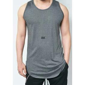 07ce6a9dfc7b7 Kit 5 Camisa Masculina Regata Swag Oversized Longline