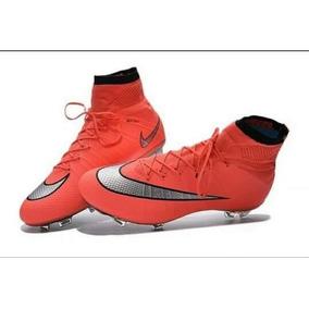 238235e4023ff Vermelha Chuteira Nike Mercurial Vapor Superfly Iii Preta ...