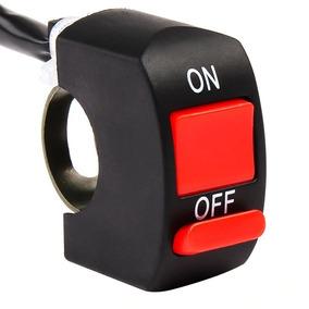 Botão Interruptor Liga Desliga Farol De Auxiliar Milha Moto