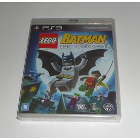 Lego Batman The Videogame Original Lacrado Mídia Física Ps3