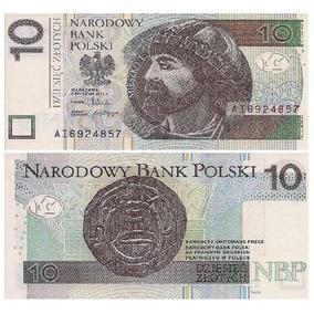 Cédula Poland/polônia - 10 Zlotchy - 2012 Fe