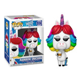 Funko Pop Inside Out Rainbow Unicorn #514 - Disney Exclusive